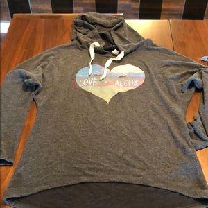 techstyles Tops - Hawaiian sweatshirt